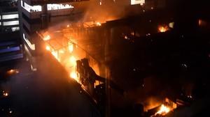 Almenys 14 morts en l'incendi d'un restaurant a l'Índia