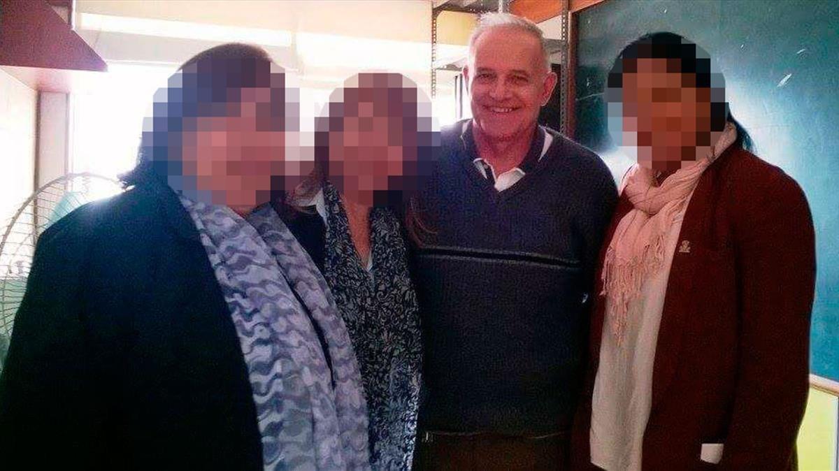 El hermano Abel Pérez, de origen español, ha ejercido durante 40 años de profesor en colegios maristas.