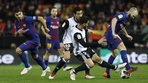 Quina sort que té el futbol de Messi