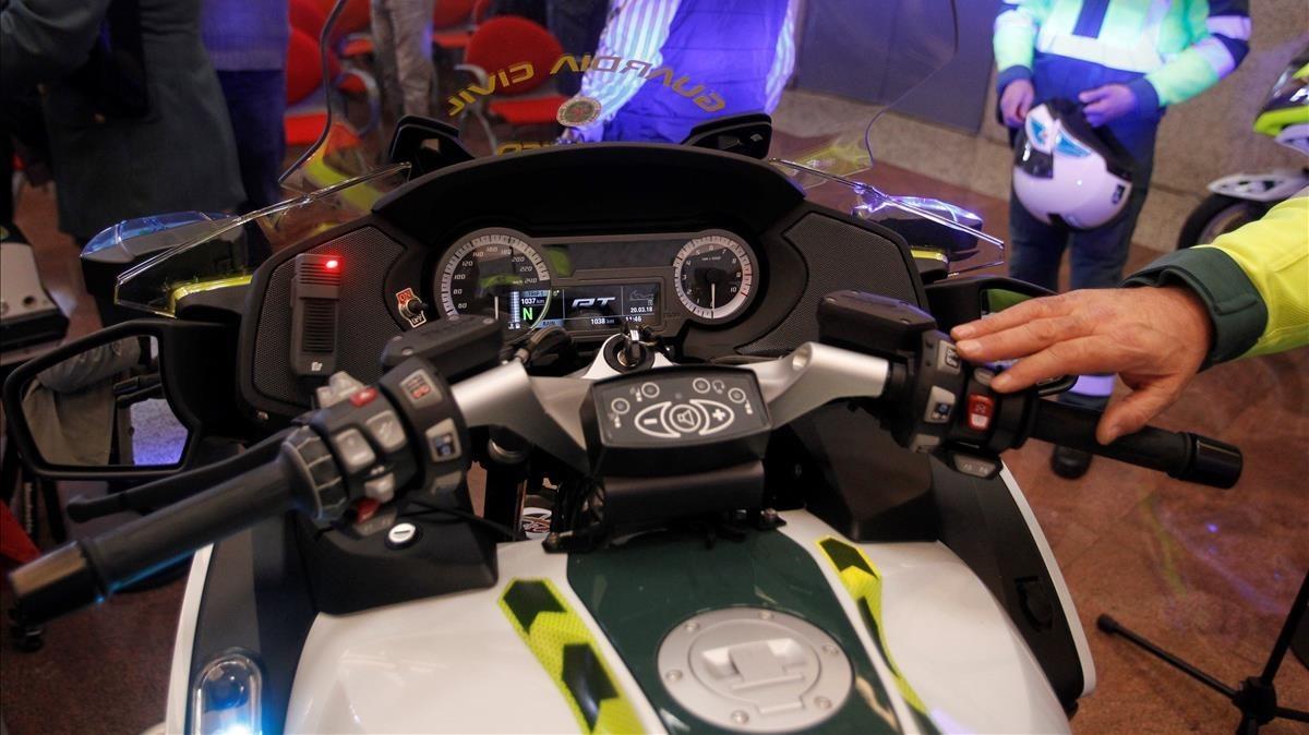 Una de las motos que desplegará la DGT esta Semana Santa.