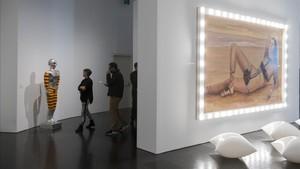 Una de las salas de la exposición dedicada a Oscar Masotta, en el Macba.