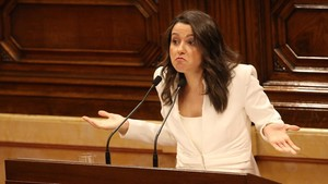 """Arrimadas, a Torra: """"No ha vingut a dirigir un govern, sinó un CDR"""""""