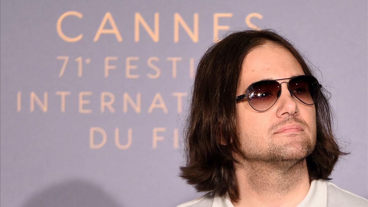 David Robert Mitchell, en Cannes.