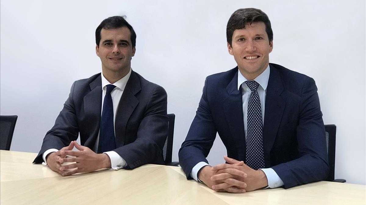 Igor de la Sota y Gonzalo Martínez de Azagra, cofundadores de Cardumen Capital