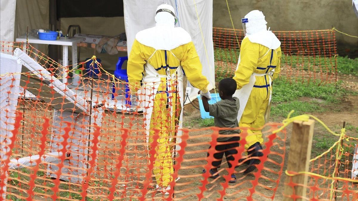 L'Ebola ja suma prop de 100 morts al Congo