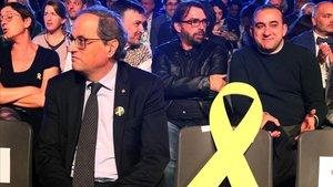 """Torra: «Catalunya no té un problema de convivència, sí de democràcia i de justícia"""""""