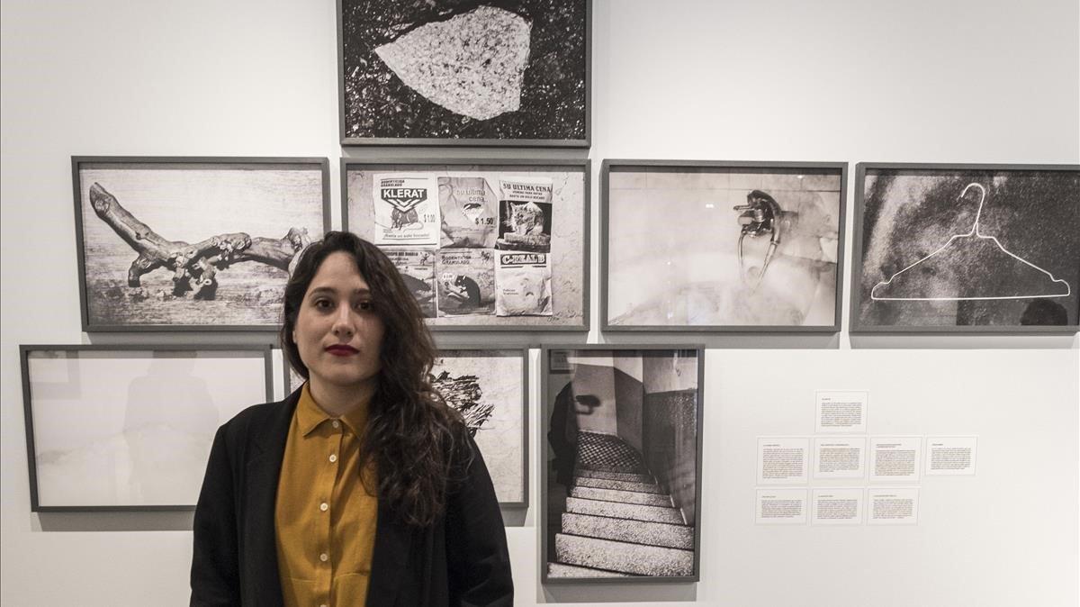 La artistaLaia Abril en Foto Colectaniacon motivo de su exposición 'On Abortion: A History of Misogyny'.