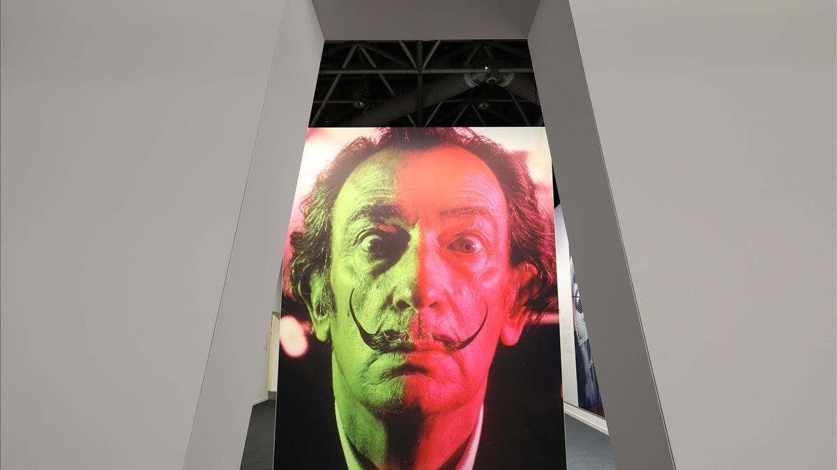 'Dalí,una historia de la pintura', en el Grimaldi Forum de Mónaco.
