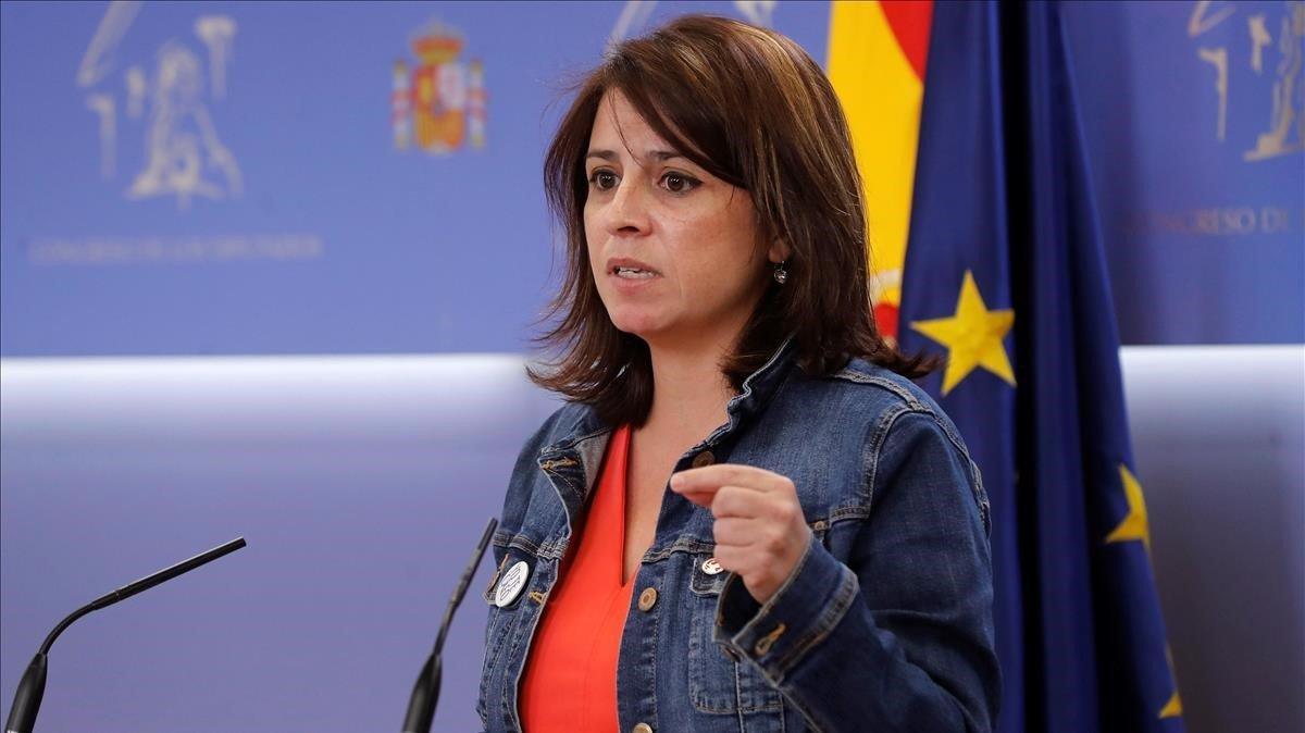 Lastra anuncia que el Govern convertirà en delicte l'apologia del franquisme