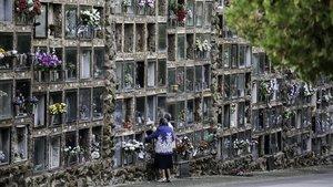 El cementiri de Montjuïc comença a traslladar 1.659 nínxols en mal estat
