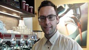Raúl Carmona trabajaba en Granada en una cadena de cafeterías que ha cerrado todos sus locales.