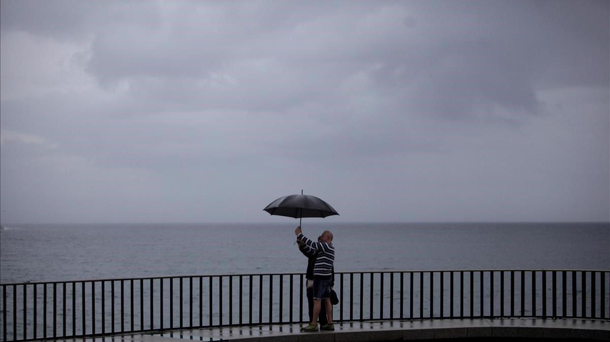 La DANA arriba a diverses comarques de Catalunya amb fortes pluges i tempestes