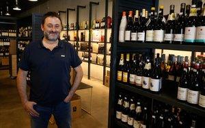 David Mas, dueno de la vinoteca Inzolia.