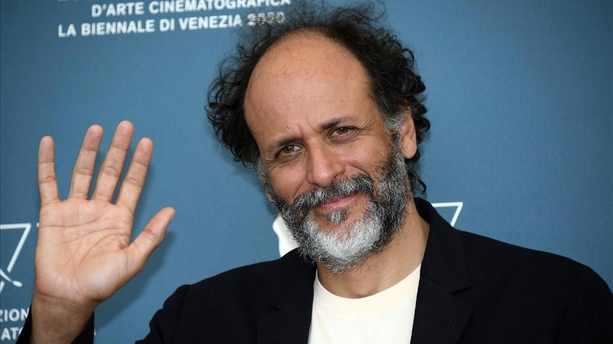 El italiano Luca Guadagnino, en el Festival de Cine de Venecia, este domingo.