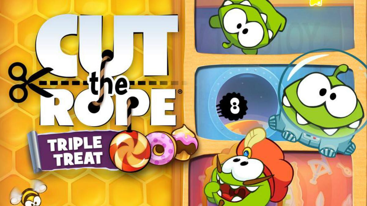 Imagen de uno de los videojuegos de la saga Cut the rope, de la empresa Zeptolab.