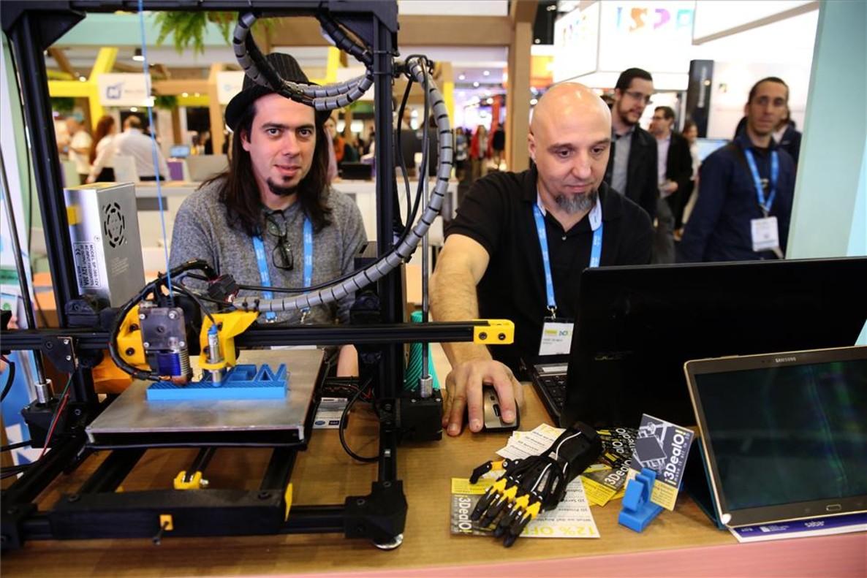 Uno de los expositores de la Smart City Expo.