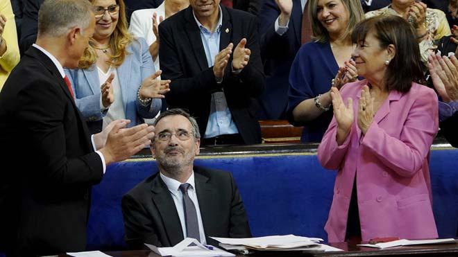 Manuel Cruz surt elegit president del Senat