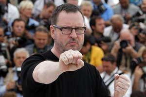 Lars von Trier en Cannes 2011 donde, como siempre, provocó.