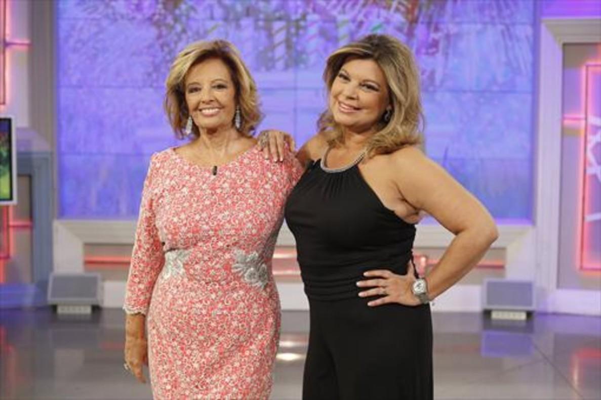 María Teresa Campos y su hija Terelu, protagonistas del reality Las Campos.