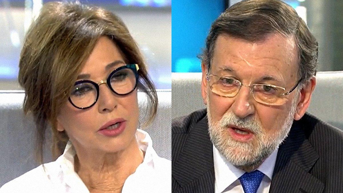"""Rajoy 'propone' crear un partido con Ana Rosa: """"Tendríamos más votos que algunos"""""""