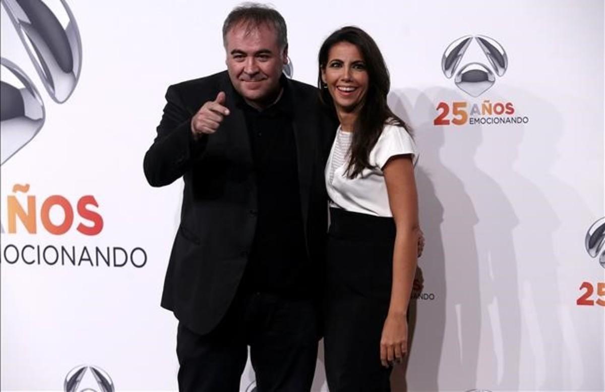 Antonio García Ferreras y Ana Pastor.