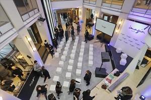 CENTRO CULTURAL. La inauguración del espacio de CaixaBank para los jóvenes.