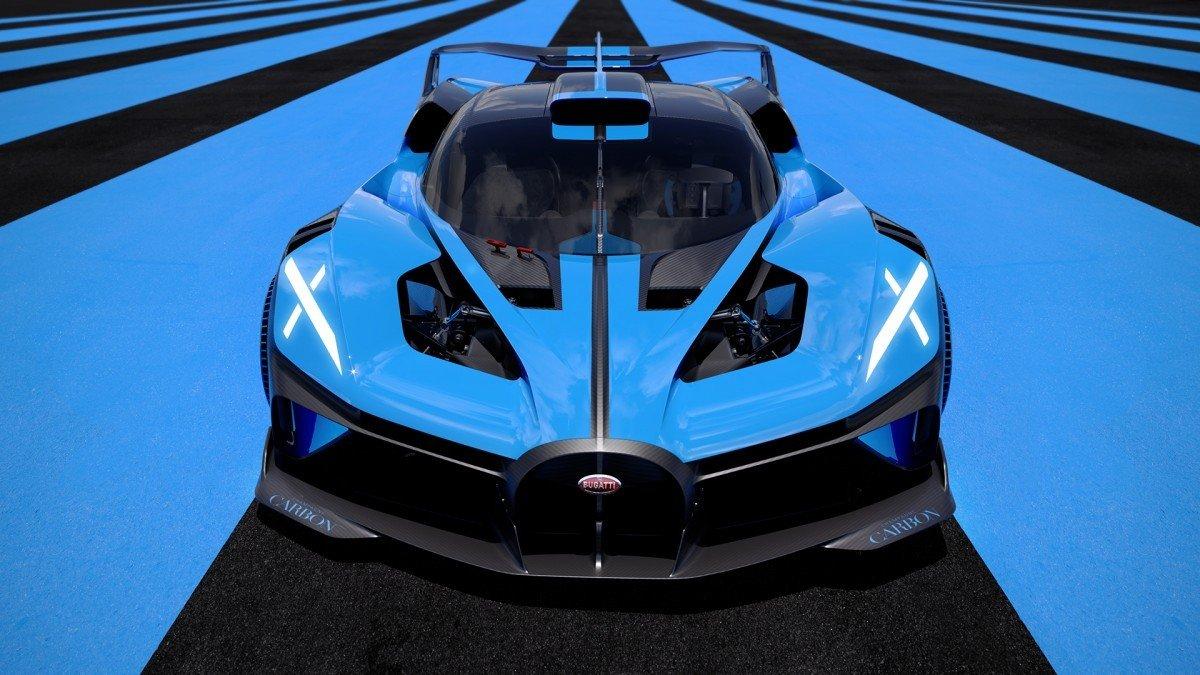 Bugatti Bolide, el experimento radical