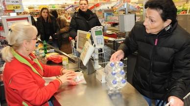 Cómo elegir la cola más rápida en un supermercado