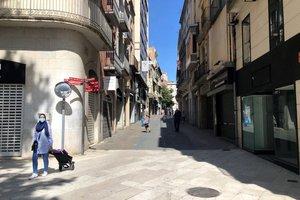 calle comercial de Figueres