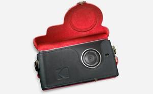 Cámara de Kodak con teléfono