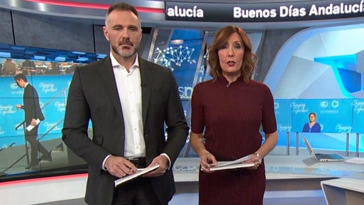 Canal Sur denuncia agresiones a sus profesionales durante una manifestación contra Vox