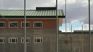 La cárcel de Estremera, hoy por la tarde.