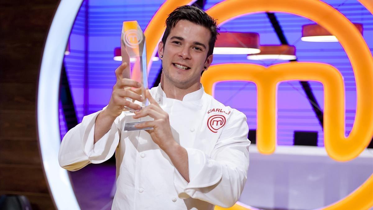 Carlos Maldonado, ganador de Masterchef 3.