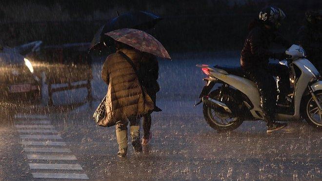 Catalunya bajo una borrasca, en alerta naranja por fuertes lluvias
