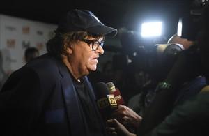 El cineasta Michael Moore durante la presentación de su nuevo documental en el Festival Internacional del Cine de Toronto.
