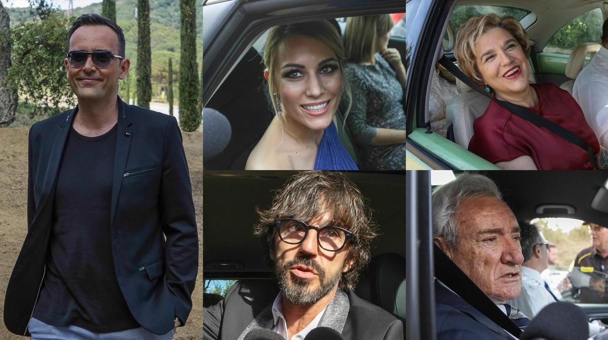 Risto Mejide, Santi Millán, Pilar Rahola, Edurne y Luis del Olmo.