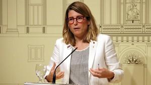 La consellera de la Presidencia y portavozdel Govern, Elsa Artadi.