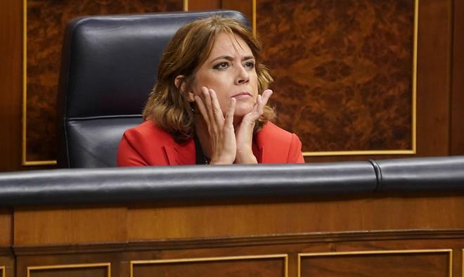 Delgado advierte al PP que no va a dimitir: Nadie nos va a chantajear