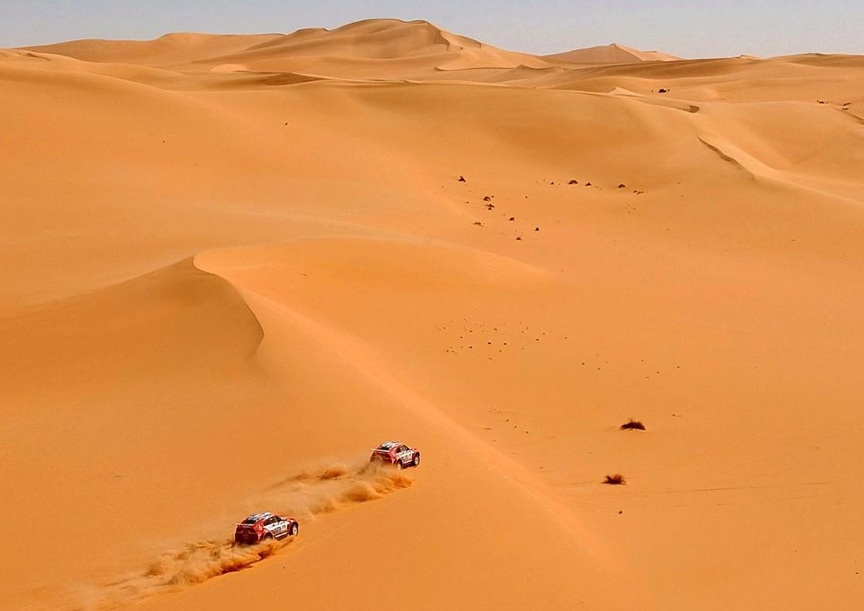 Un desierto del Sáhara.