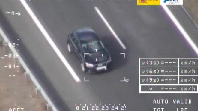 La DGT multa más de 18000 conductores en una semana, en carreteras secundarias.