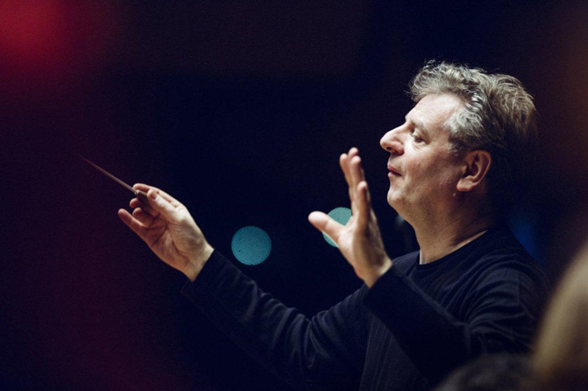 El director y clarinetista Karl Heinz Steffens.