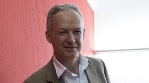 El director general de la cadena de librerías Waterstones, James Daunt.