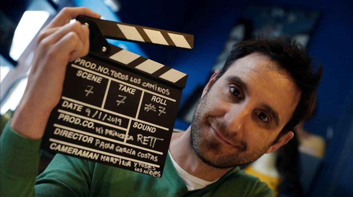 El actor Dani Rovira (Málaga, 1980), fotografiado esta semana en Madrid.
