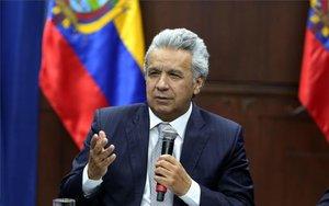 Lenín Moreno, el presidente de Ecuador.