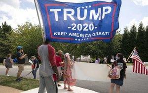 Seguidores de Donald Trump.