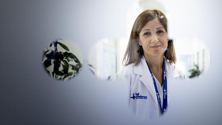 Aroa López,la enfermera supervisoradel Servicio deUrgencias del Hospital Vall d'Hebron.