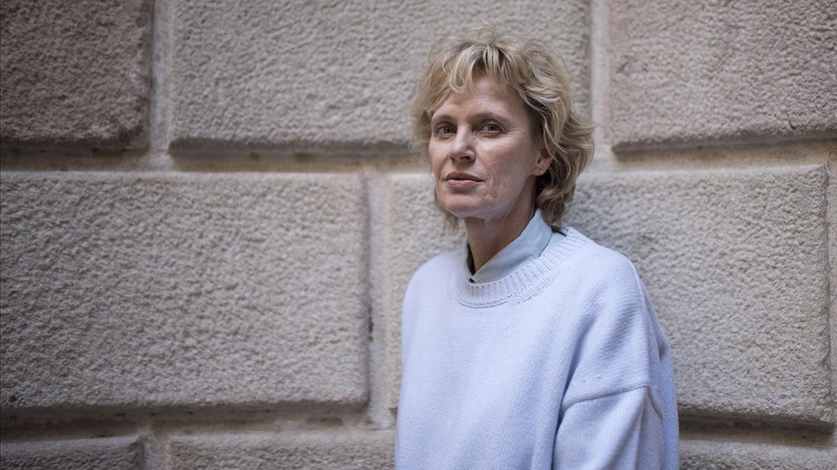 La escritora Siri Hustvedt, en su última visita a Barcelona.