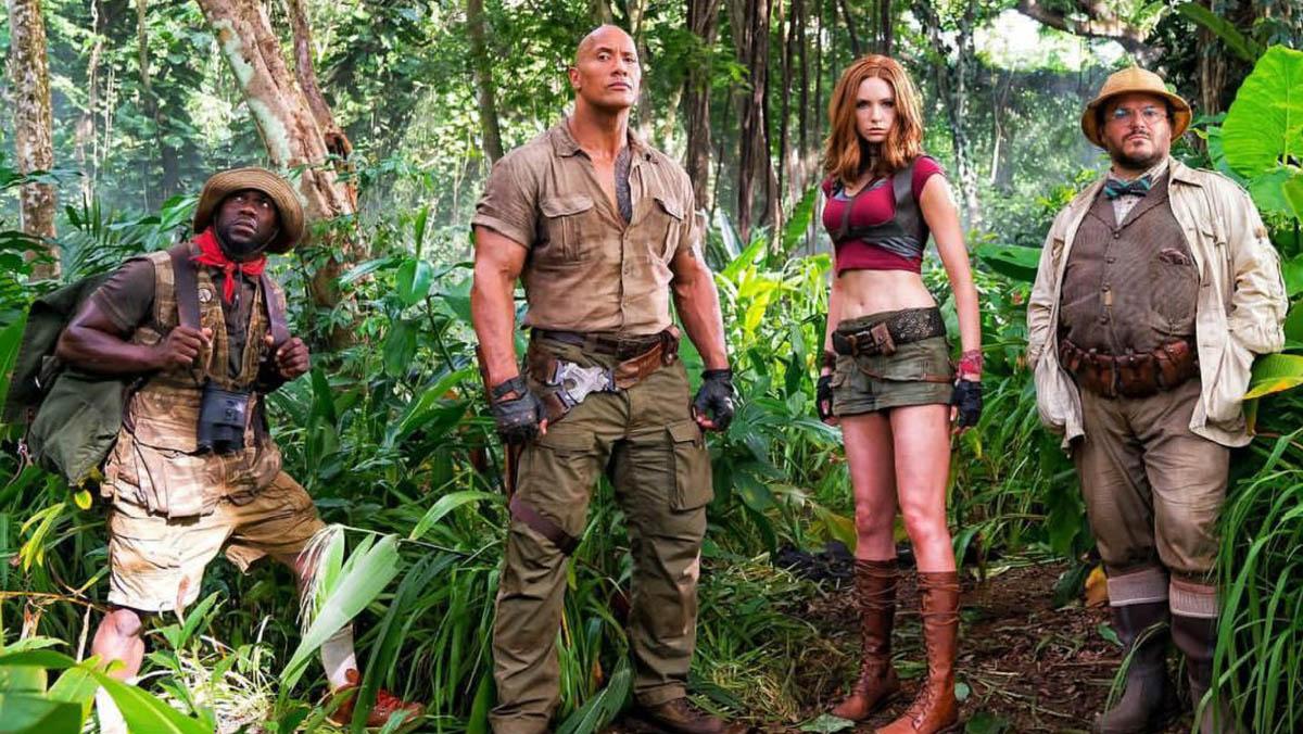 Tráiler de Jumanji: Bienvenidos a la jungla. (2017)