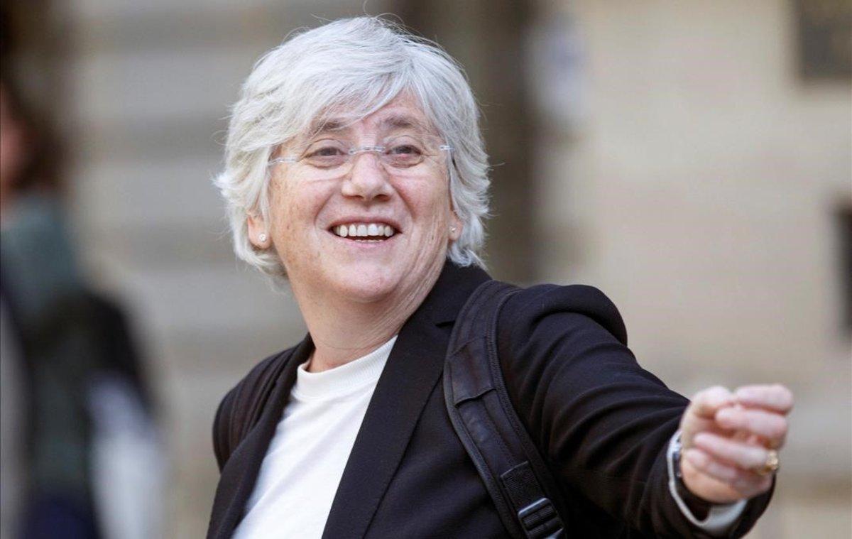 La 'exconsellera' Clara Ponsatí.