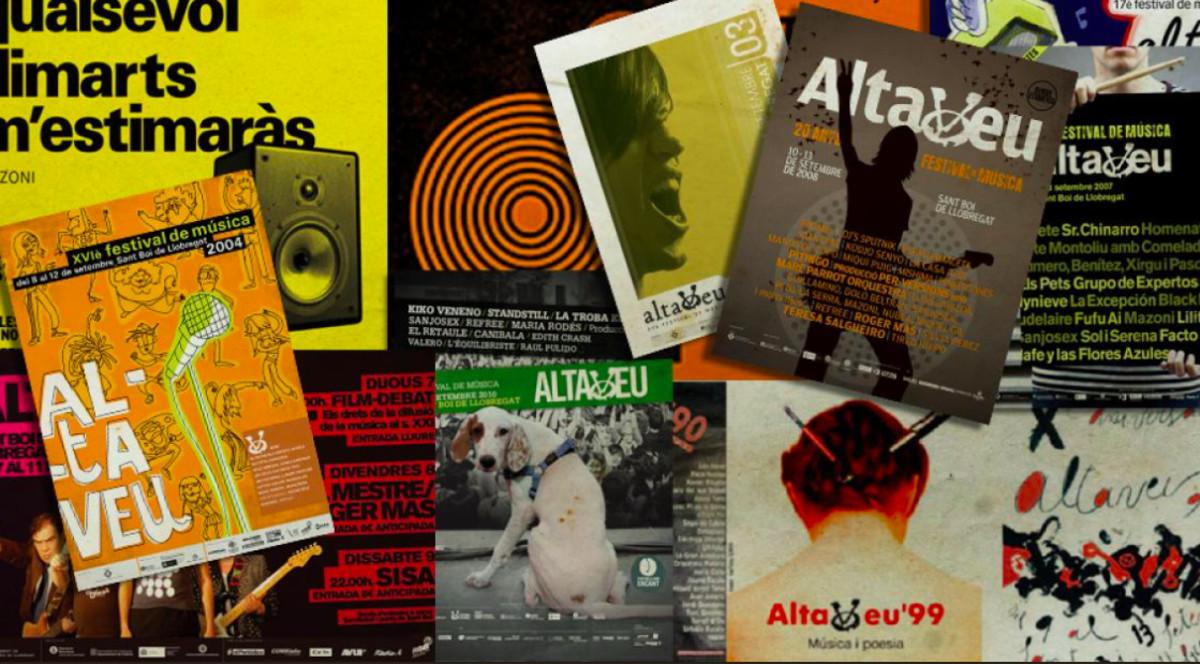 La exposición 30 altavoces, 30 carteles, es una de las iniciativas enmarcadas en la 30º edición del certamen